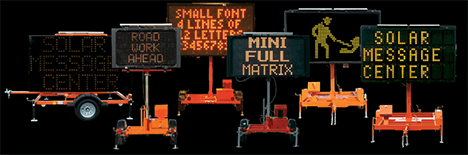 Smart Zone Traffic Message Boards